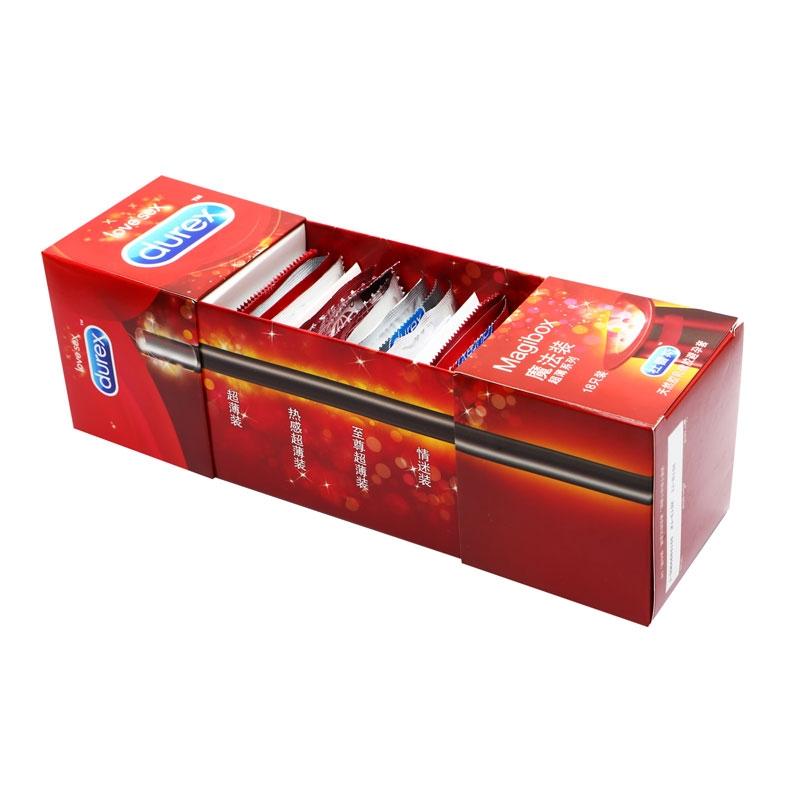 杜蕾斯-魔法装超薄系列安全套18只装(红色)