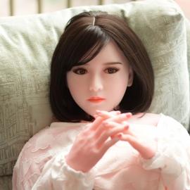 初诚-真人发音感应互动充气娃娃头部胸部实体硅胶